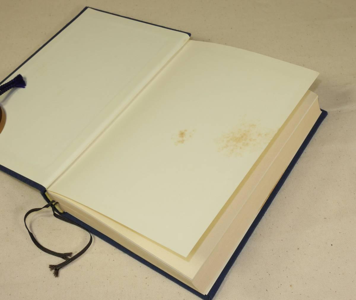 画像10 裏表紙を開けた頁の汚れ