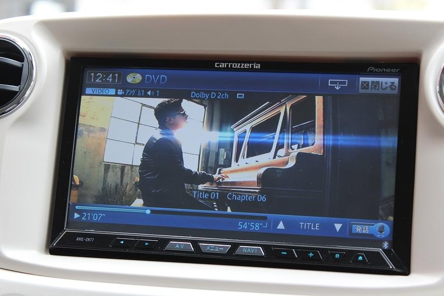 社外HDDナビゲーション・フルセグ・DVD