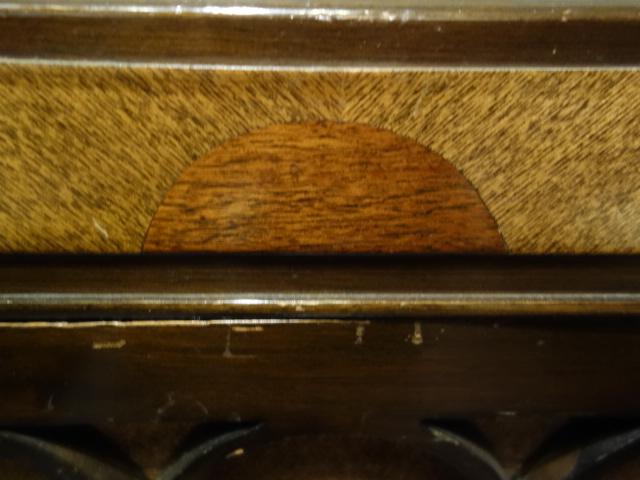 【骨董】アンティーク*昭和レトロ*五輪柄のユニークな蓄音機*蓄音器_画像3