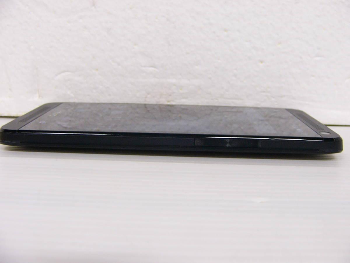 美品 au HTC J One HTL22 ブラック 初期化済 判定○_画像8
