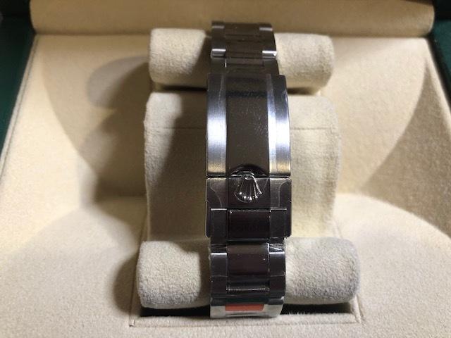 生産終了最終モデル・デイトナ116520・ランダム・黒文字盤-バックル鏡面・保護シール・ベゼルカバー完璧なデットストックです。_画像4