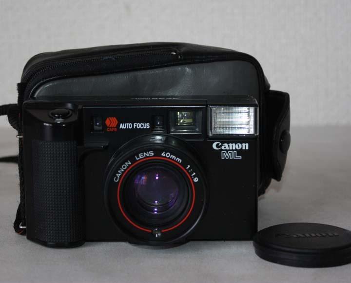 ★歴史あるカメラ屋さん整理品★Canon AE-1 A35 Datelux ML フィルムカメラ三台まとめて 詳細不明 ジャンク 最落なし MA128_画像7