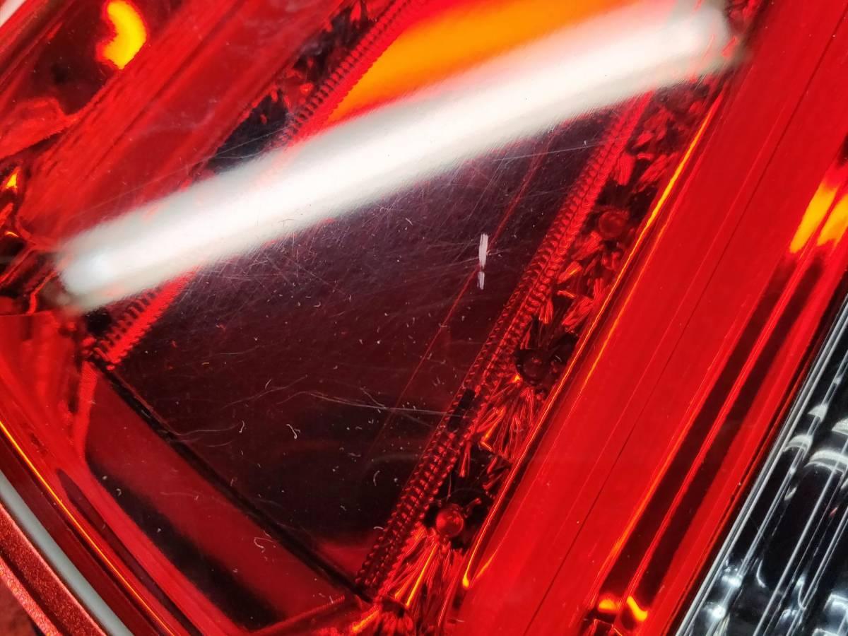 コーリン シャレード LEDテールランプ レッドレンズ スバル XV インプレッサスポーツ GP7/GJ7 中古_画像4