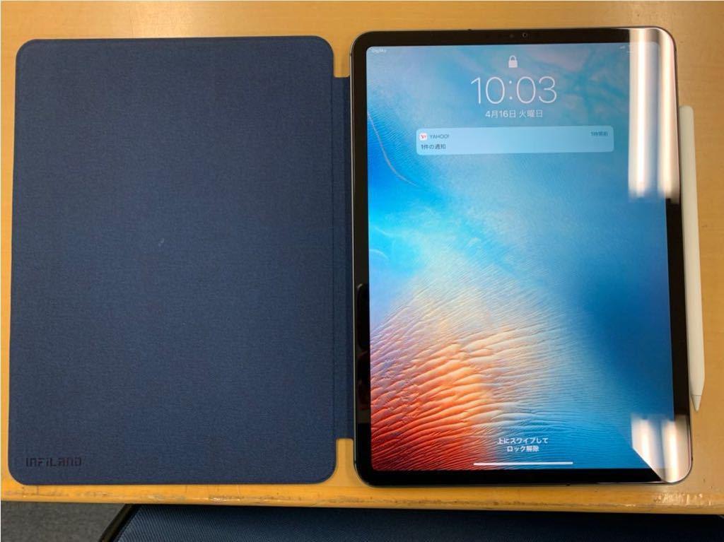 iPad Pro 11インチ Wi-Fi + Cellular 512GB スペースグレイ(超美品、使用期間約1ヶ月程度)_画像5
