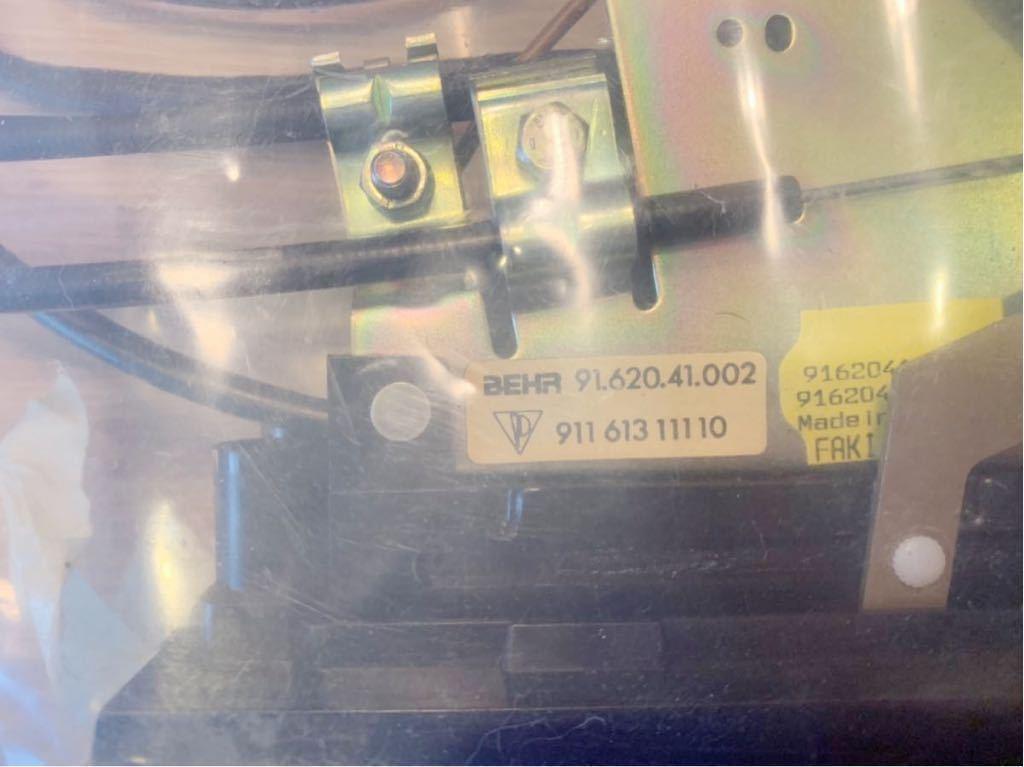 ポルシェ911/930 空調調節部分 新品未使用品_画像3