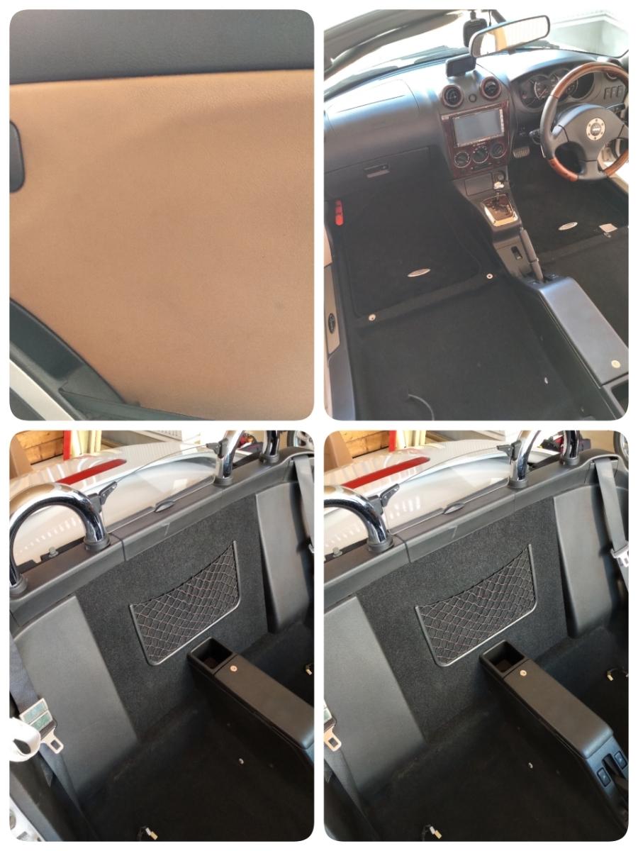 コペン タンレザーエディション ホワイト ダイハツ Gパック HID HDDナビ オープンカー アクティブトップ copen モモステ l880k_画像6