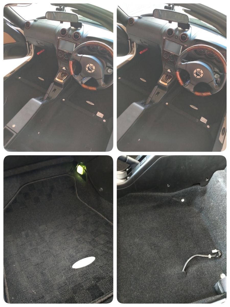 コペン タンレザーエディション ホワイト ダイハツ Gパック HID HDDナビ オープンカー アクティブトップ copen モモステ l880k_画像10