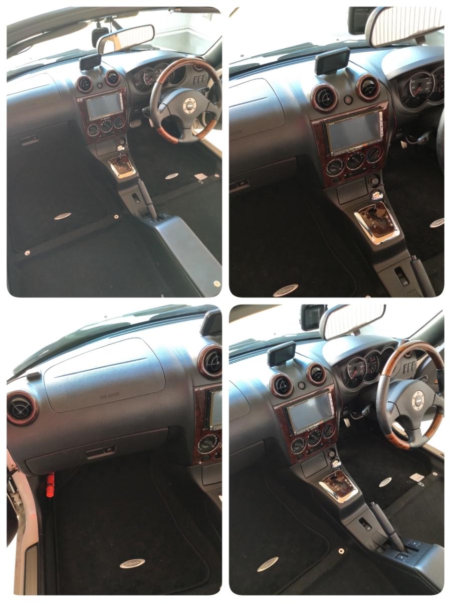 コペン タンレザーエディション ホワイト ダイハツ Gパック HID HDDナビ オープンカー アクティブトップ copen モモステ l880k_画像7