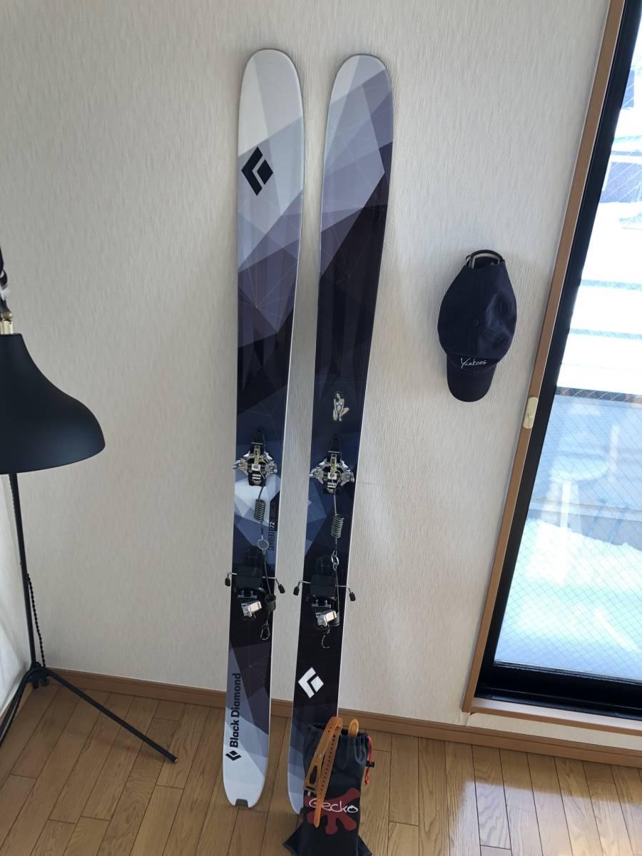 ブラックダイヤモンド コンバート ディナフィット TLT ゲッコ シール BC 山スキー