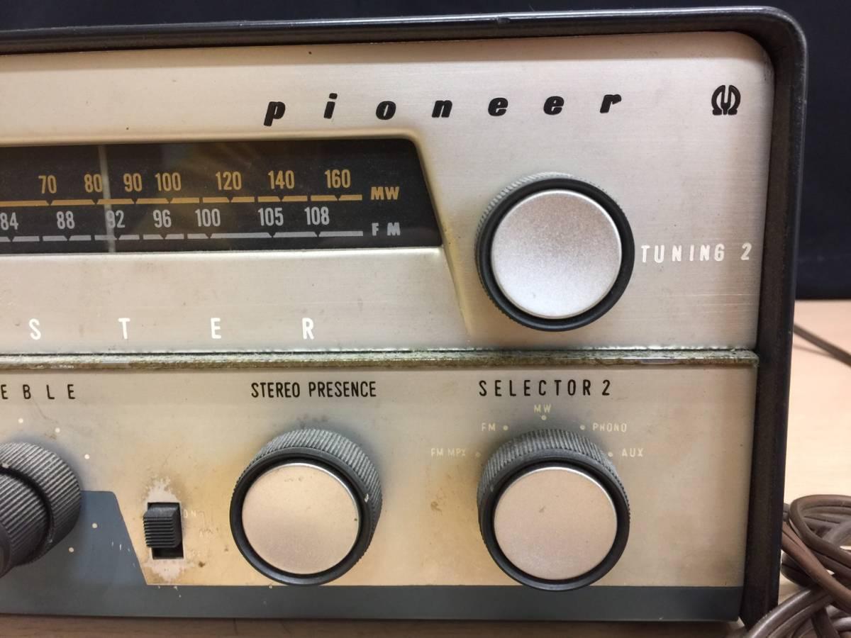 カ 丸2買取本舗 山:PIONEER パイオニア FM AMステレオレシーバー SM-B200 ジャンク品_画像2