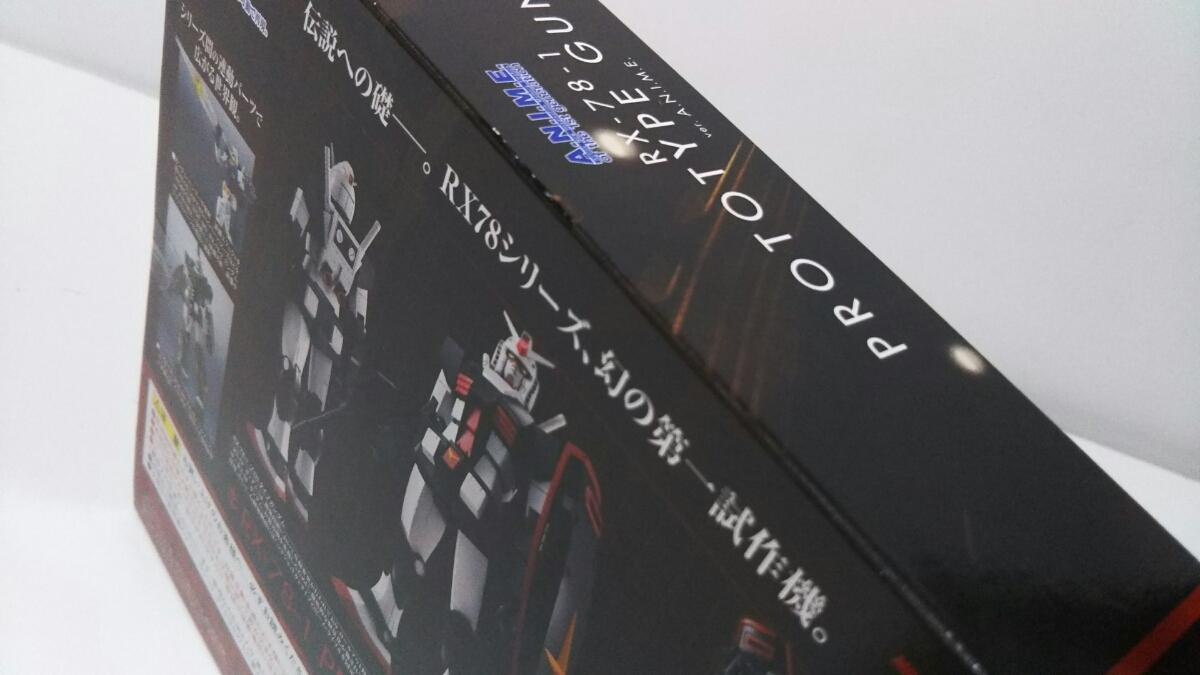 ROBOT魂 RX-78-1 プロトタイプガンダム ver.A.N.I.M.E. 新品_画像2