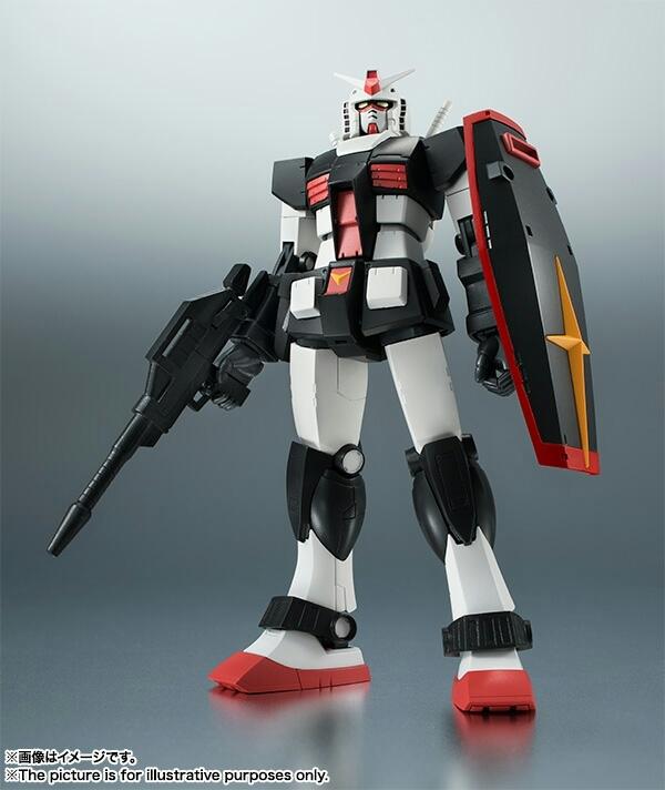 ROBOT魂 RX-78-1 プロトタイプガンダム ver.A.N.I.M.E. 新品_画像5