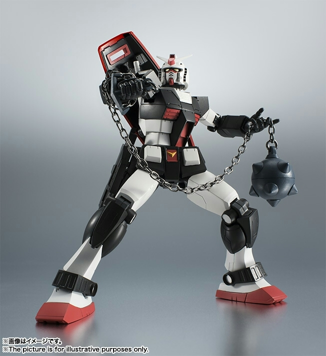 ROBOT魂 RX-78-1 プロトタイプガンダム ver.A.N.I.M.E. 新品_画像7