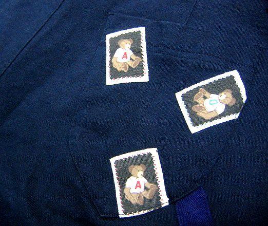 希少!A.O. アツキオオニシ ATSUKI ONISHI ワッペン付きのキュロットスカート ショートパンツ 90's 90年代!オールド!_画像3