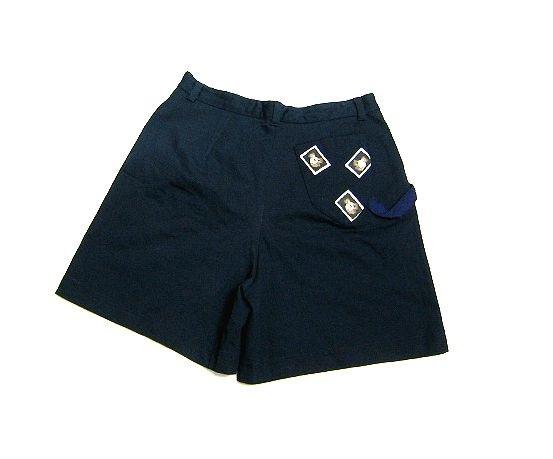 希少!A.O. アツキオオニシ ATSUKI ONISHI ワッペン付きのキュロットスカート ショートパンツ 90's 90年代!オールド!_画像2