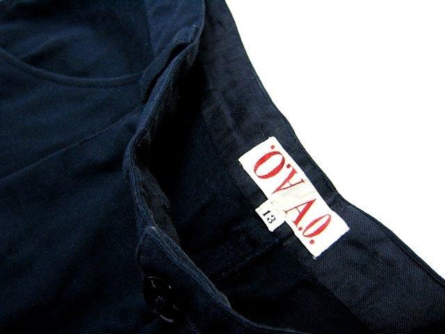 希少!A.O. アツキオオニシ ATSUKI ONISHI ワッペン付きのキュロットスカート ショートパンツ 90's 90年代!オールド!_画像4