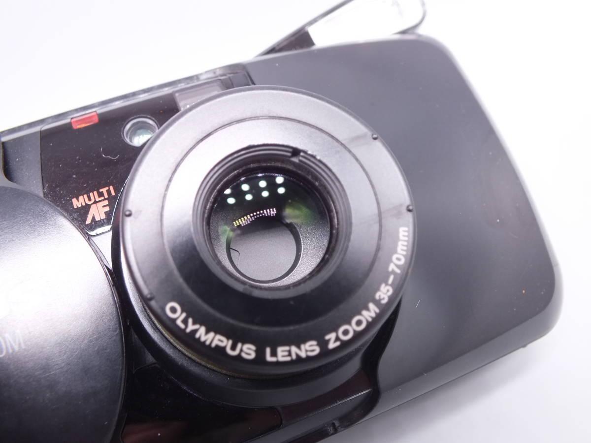 OLYMPUS オリンパス/μ【mju:】ZOOM PANORAMA /コンパクトカメラ/ミュー ズーム パノラマ/ 動作品/フィルムカメラ/管E0433_画像2