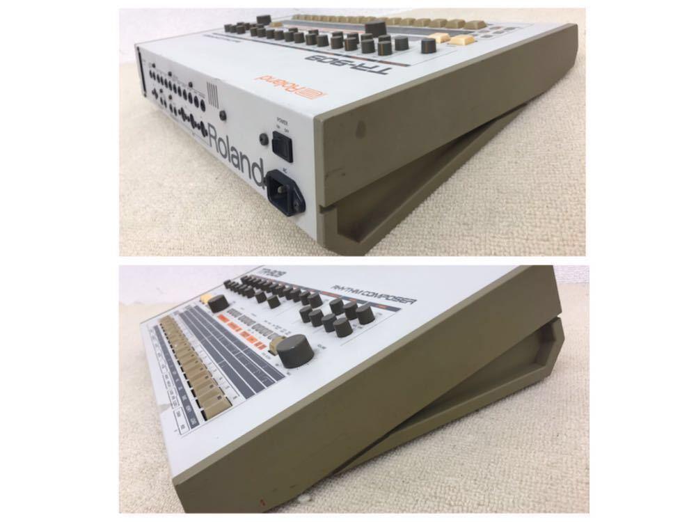 R040806 Roland / TR-909 ローランド S/N 403983 【名機、希少品】後期型 通電OK 動作未確認_画像6