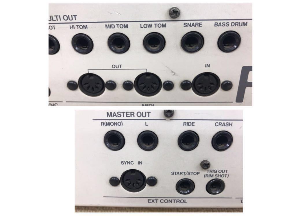 R040806 Roland / TR-909 ローランド S/N 403983 【名機、希少品】後期型 通電OK 動作未確認_画像9