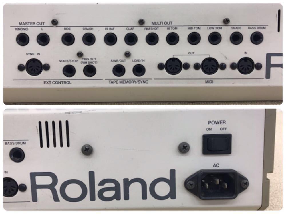 R040806 Roland / TR-909 ローランド S/N 403983 【名機、希少品】後期型 通電OK 動作未確認_画像8