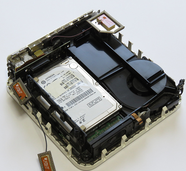 Mac mini Late2009MC238JA El Capitanメモリー4GB 光学ドライブ交換済み_画像6
