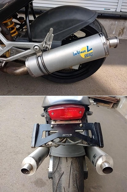 ドカティ モンスター900 DUCATI MONSTER900 部品取り 書類無し カスタム レストア_画像8