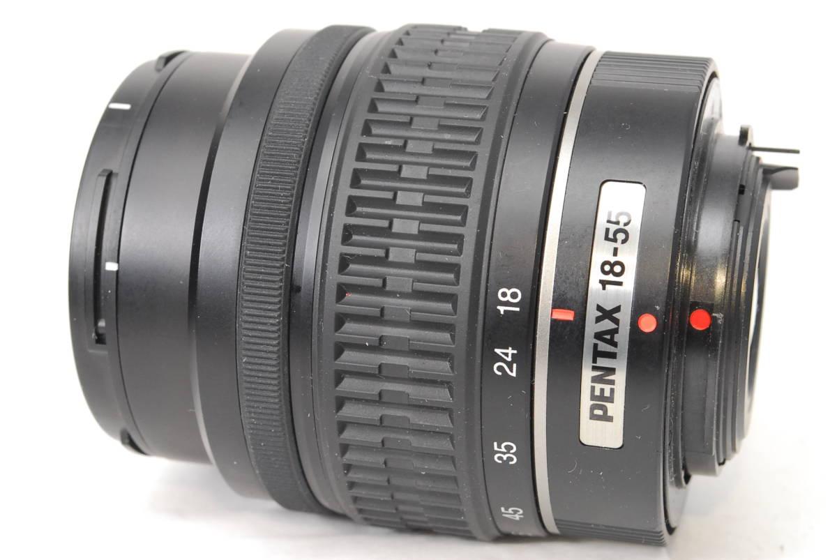 動作良好 ペンタックス smc PENTAX-DA L 18-55mm F3.5-5.6 AL 【5322105】 ♯4785_画像3