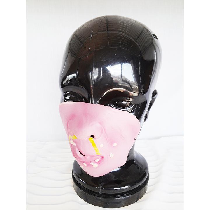 ハーフマスク パーティーグッズ ハロウィン コスプレ コスプレイヤー マスク お面 1552_画像1