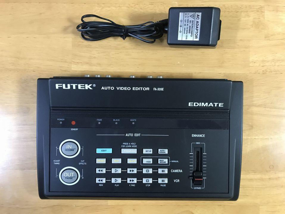 通電OK! FUTEK AUTO VIDEO EDITOR EDIMATE FA-305E(ジャンク相当?)_画像3