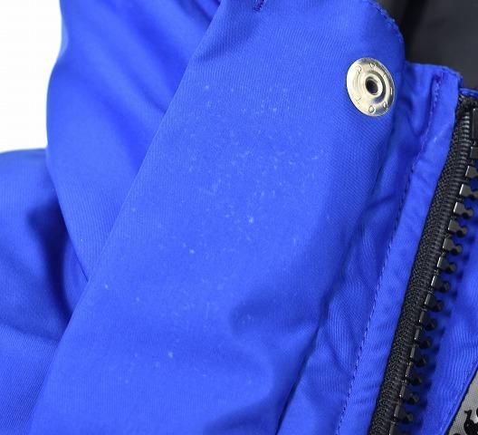 BEDWIN & THE HEARTBREAKERS ベドウィン HOODED DOWN JKT QUINE フーデッドダウンジャケット 1(S) BLUE HOODIE JACKET フーディー_画像8