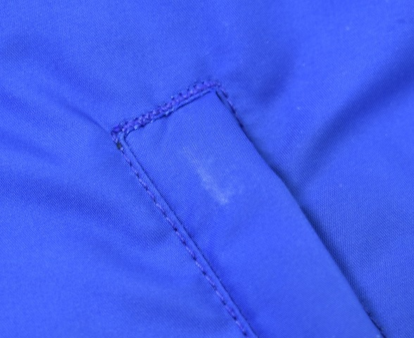 BEDWIN & THE HEARTBREAKERS ベドウィン HOODED DOWN JKT QUINE フーデッドダウンジャケット 1(S) BLUE HOODIE JACKET フーディー_画像7