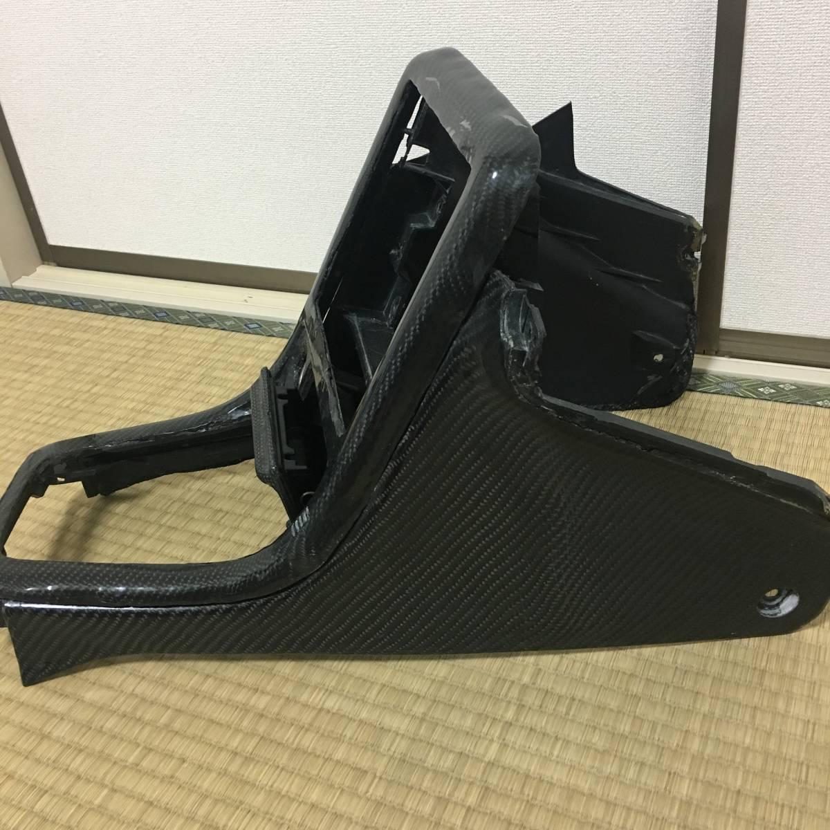 カッコイイ!スカイラインR32 GTR GTS リアルカーボン センターコンソール フルカーボンです!物の値打ちは人が決める!_画像5