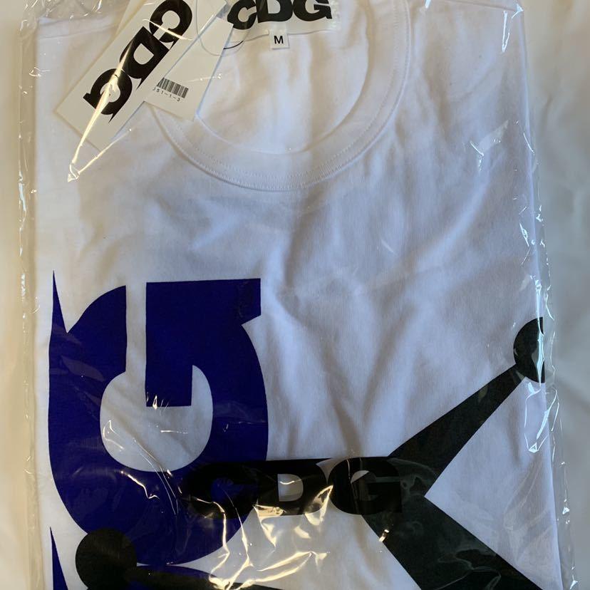 CDG STUSSY Tシャツ 白M COMME des GARCONS コム・デ・ギャルソン コムデギャルソン コム デ ギャルソン ステューシー_画像3