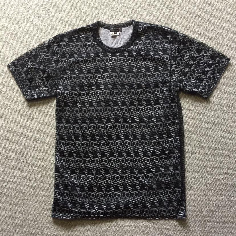 コムデギャルソンオムプリュス COMME des GARCONS HOMME PLUS 半袖Tシャツ S スカル メッシュ プリュス コムデギャルソン オムプリュス_画像3