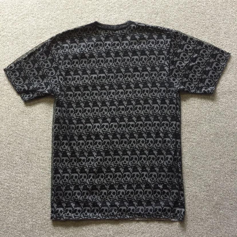 コムデギャルソンオムプリュス COMME des GARCONS HOMME PLUS 半袖Tシャツ S スカル メッシュ プリュス コムデギャルソン オムプリュス_画像4
