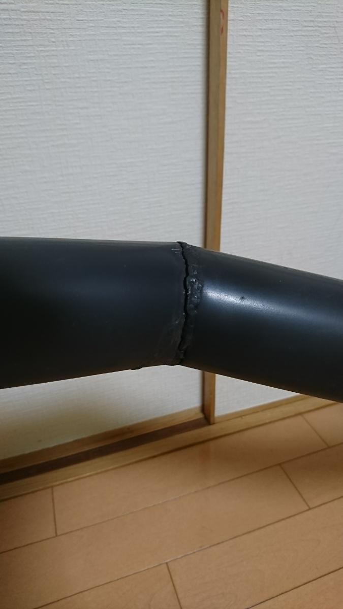 ジャンク Z1Z2 トーキョー鉄管 機械曲げ クラック有り _画像3