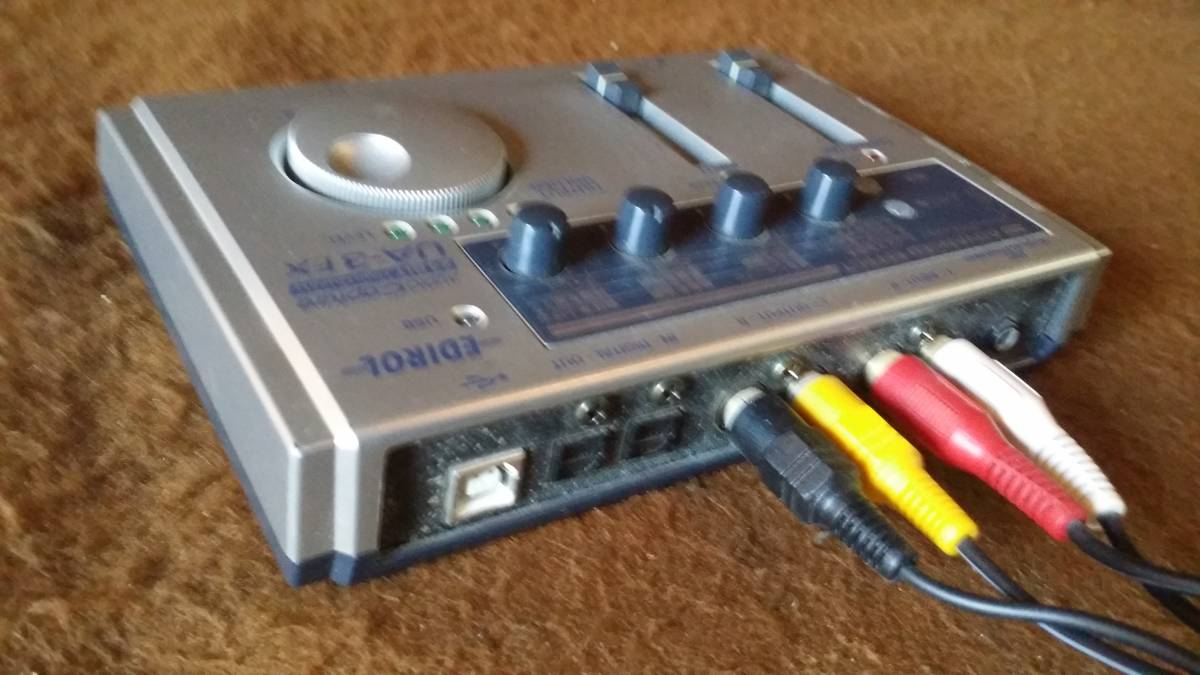 【EDIROL USB オーディオ インターフェイス】UA-3FX_画像3