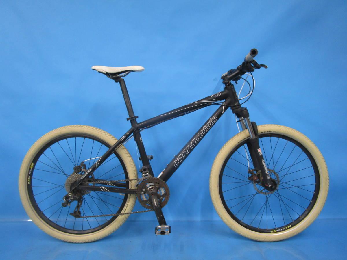 即決 ☆大阪西淀☆ CANNONDALE F5 アルミ マウンテンバイク ディスクブレーキ 26インチ 3×9 キャノンデール SRAM X7 中古 自転車 M04