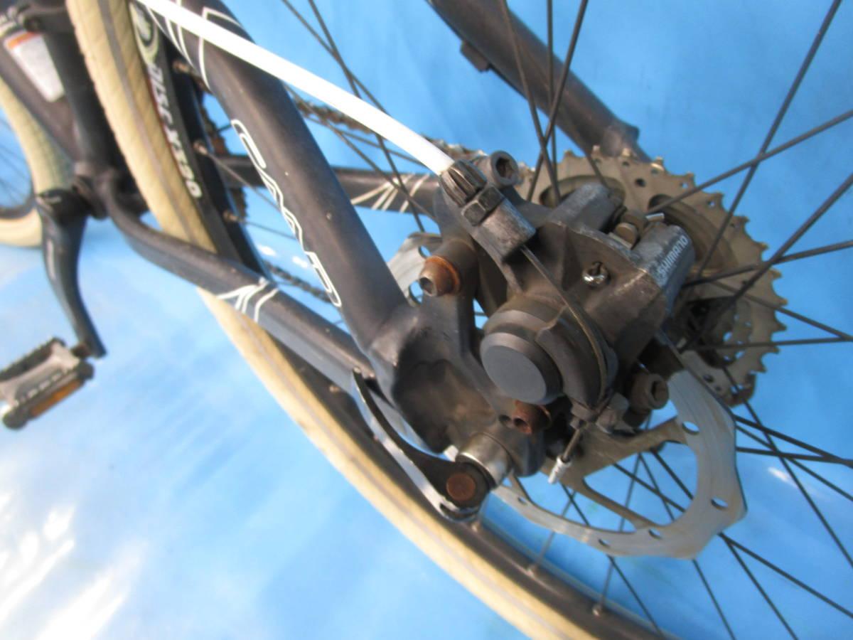 即決 ☆大阪西淀☆ CANNONDALE F5 アルミ マウンテンバイク ディスクブレーキ 26インチ 3×9 キャノンデール SRAM X7 中古 自転車 M04_画像9