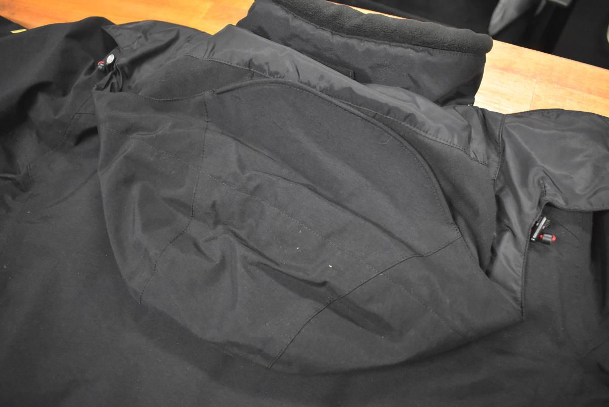 【クリーニング済☆売り切り】シマノ ネクサス ゴアテックス コールドウェザースーツ RB-114M Lサイズ ブラック_画像5
