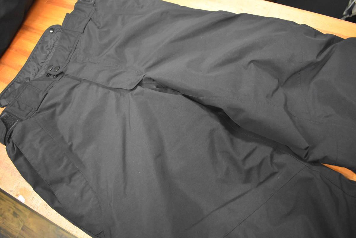 【クリーニング済☆売り切り】シマノ ネクサス ゴアテックス コールドウェザースーツ RB-114M Lサイズ ブラック_画像7