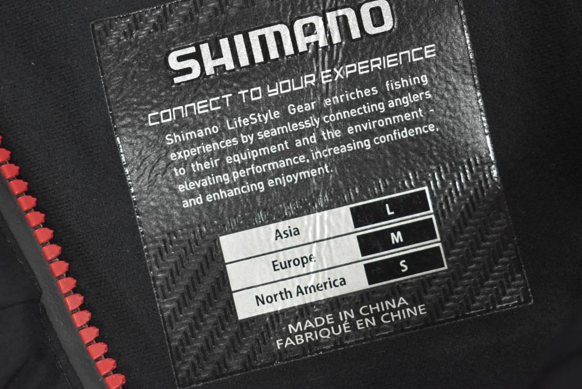 【クリーニング済☆売り切り】シマノ ネクサス ゴアテックス コールドウェザースーツ RB-114M Lサイズ ブラック_画像9