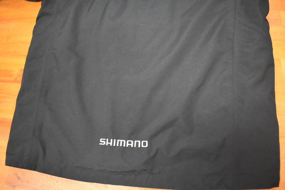 【クリーニング済☆売り切り】シマノ ネクサス ゴアテックス コールドウェザースーツ RB-114M Lサイズ ブラック_画像4