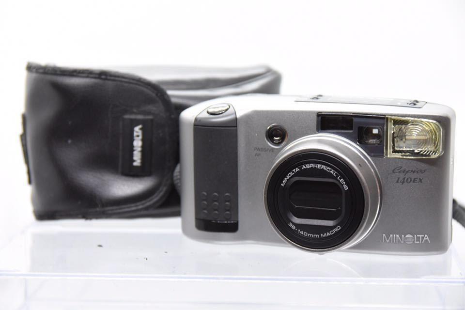 MINOLTA capios 140 EX カメラ コンパクトカメラ X16 en_画像1