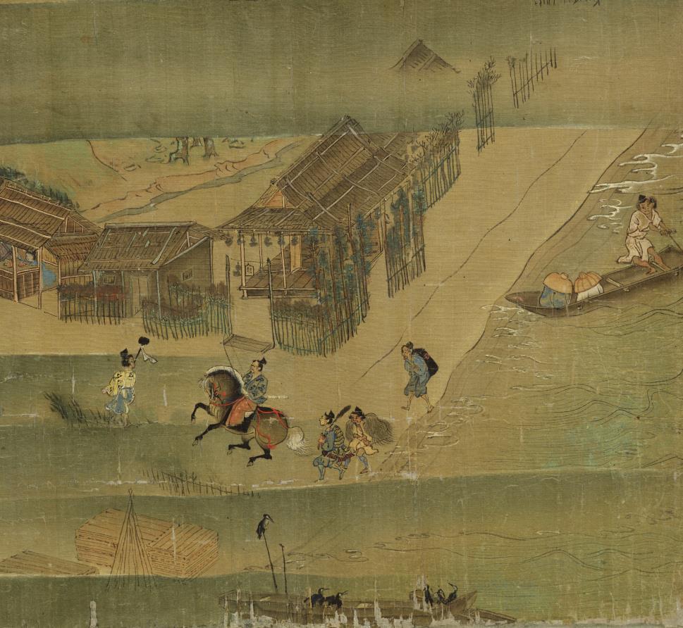 国宝美術 遊行上人 時代物 【一遍聖絵または、伝巻】旧藏 掛軸 ・手巻・_画像5
