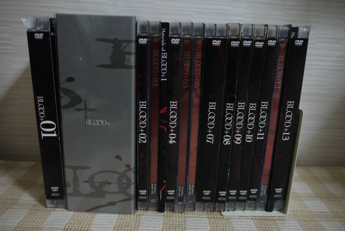 BLOOD+ 初回全13巻セット DVD 即決 送料無料_画像1
