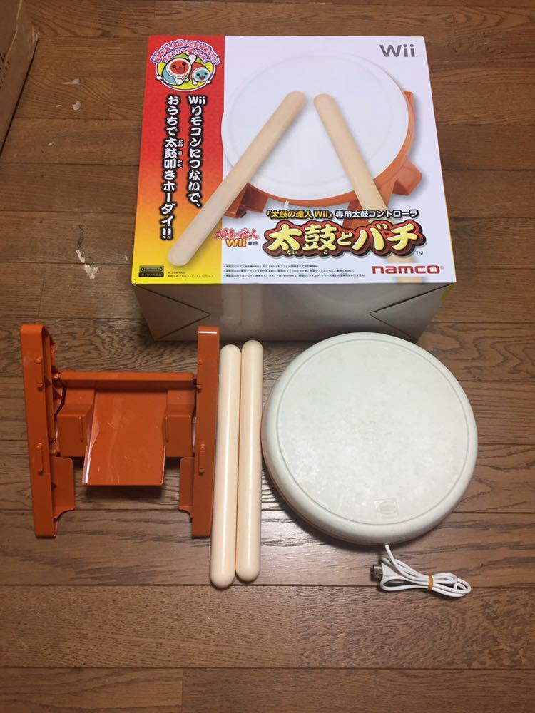 Wii 太鼓の達人 タタコン 箱付き