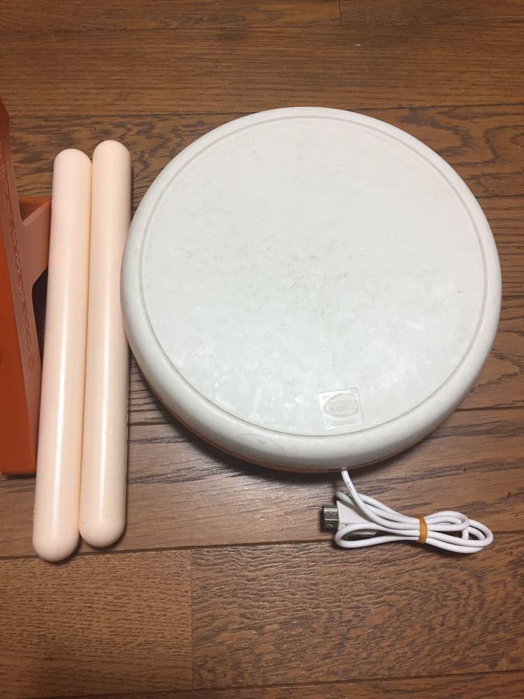 Wii 太鼓の達人 タタコン 箱付き_画像4
