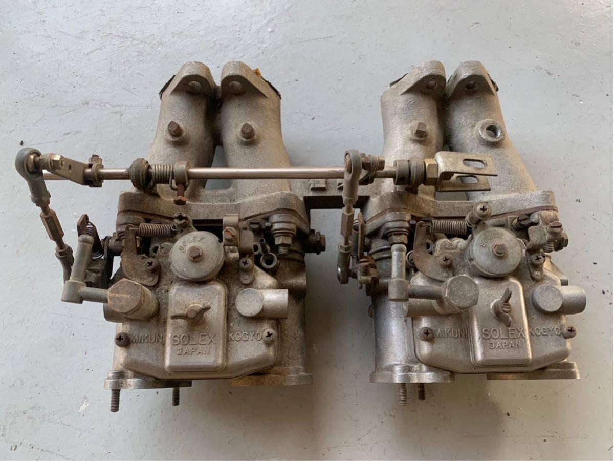 極東 ソレックス ダットサンブルーバード 510 SSS P510 L16 2ドアクーペ 希少 キャブレター solex 旧車 当時物 ハコスカ 当時もの