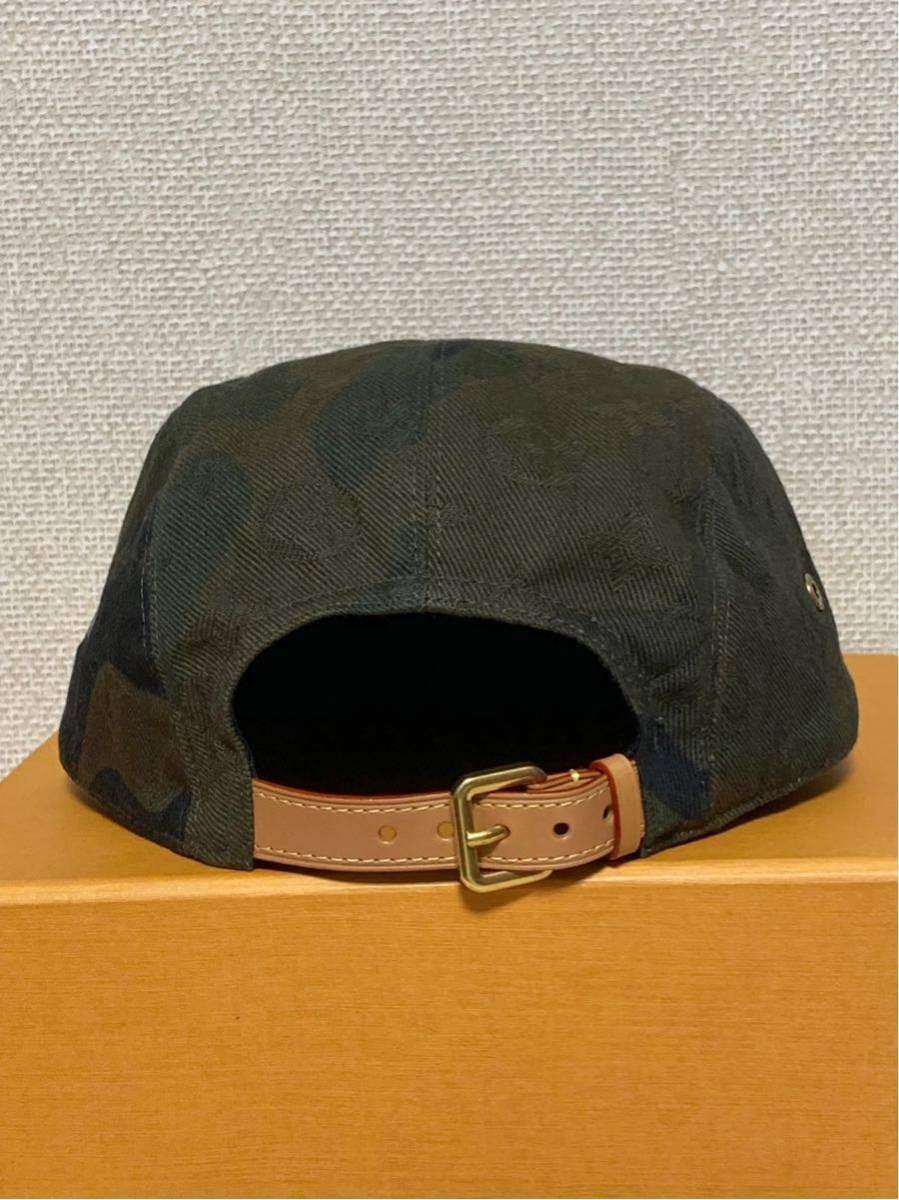 シュプリーム×ルイヴィトン*コラボキャップ帽子*カモフラージュMP1875*Supreme×LOUIS VUITTON PANELS SP CAMOUF*新品未使用_画像6
